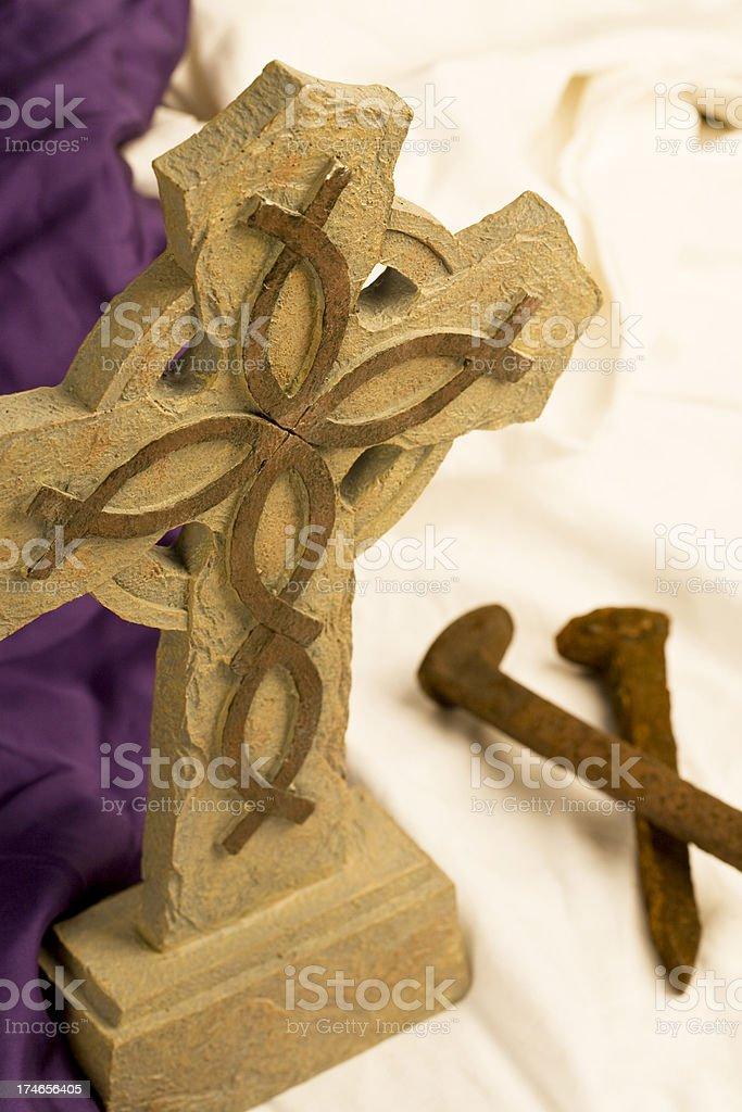 Cross Series stock photo