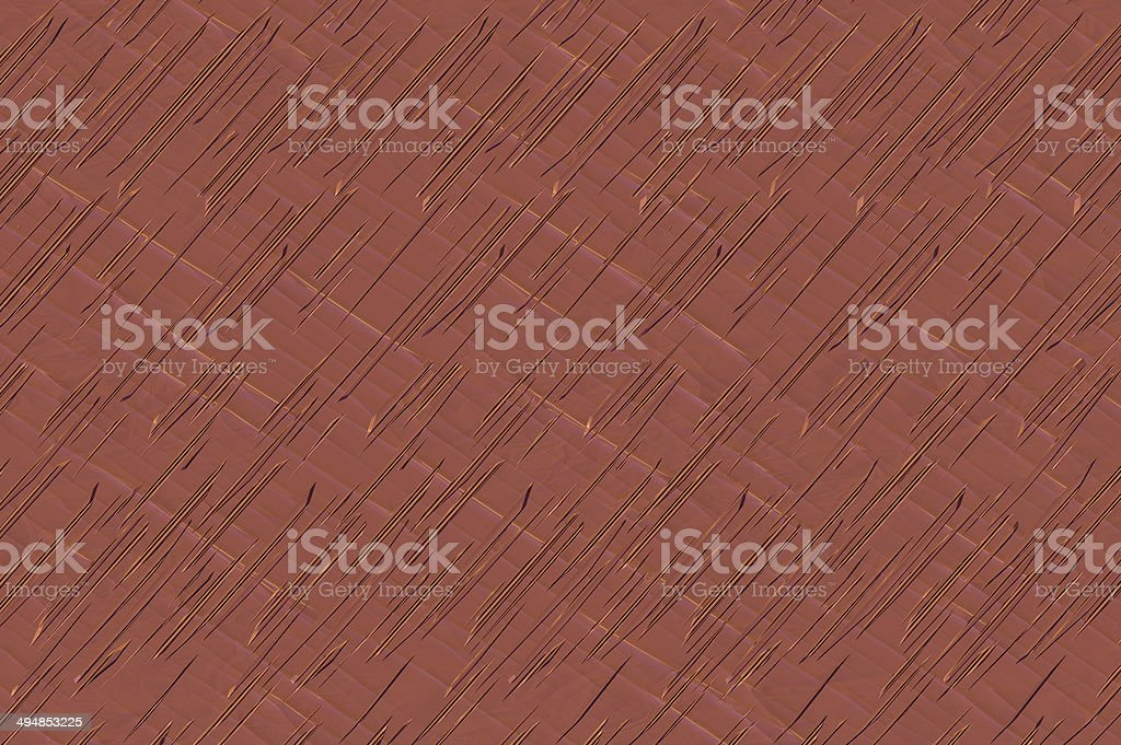 Cross striped textured solid background - dark coral. royalty-free stock photo