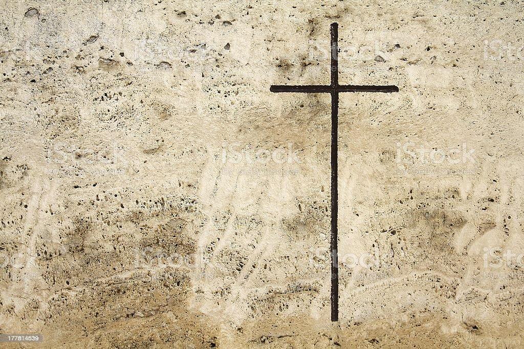 Cross symbol royalty-free stock photo