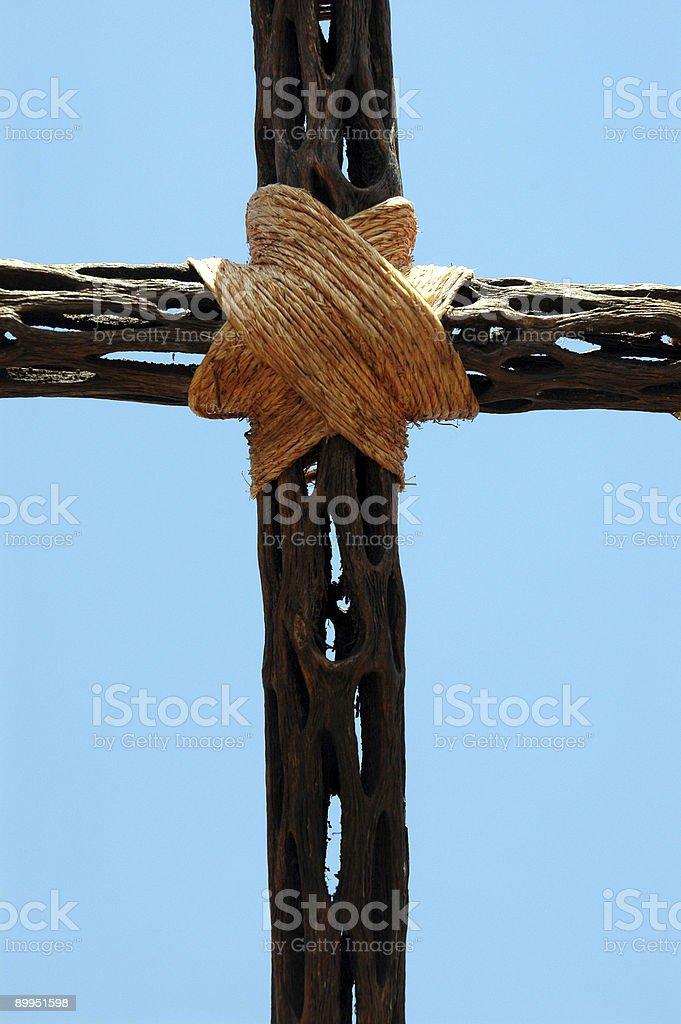 Крест в небо Стоковые фото Стоковая фотография