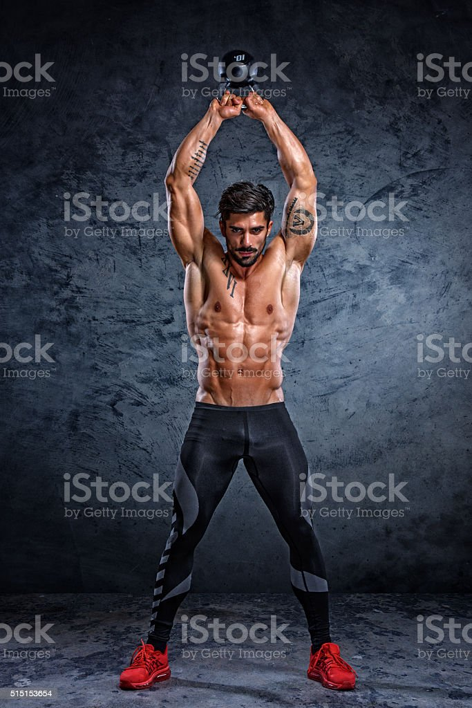Cross Training stock photo