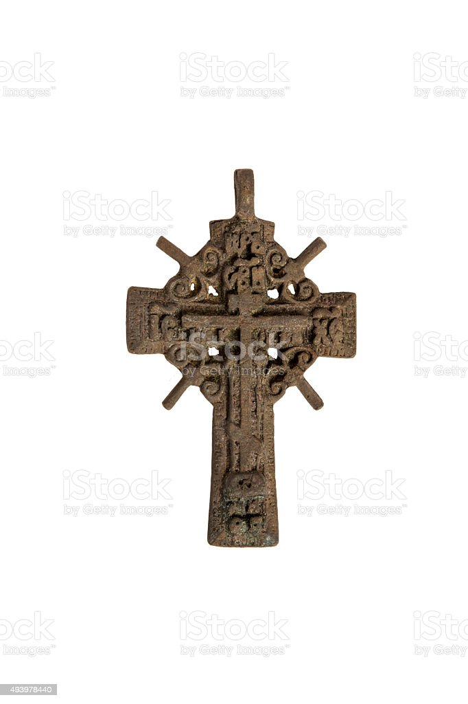 cross vintage. stock photo
