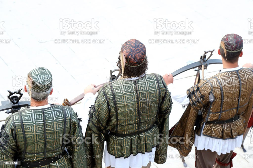 Crossbow Archers stock photo