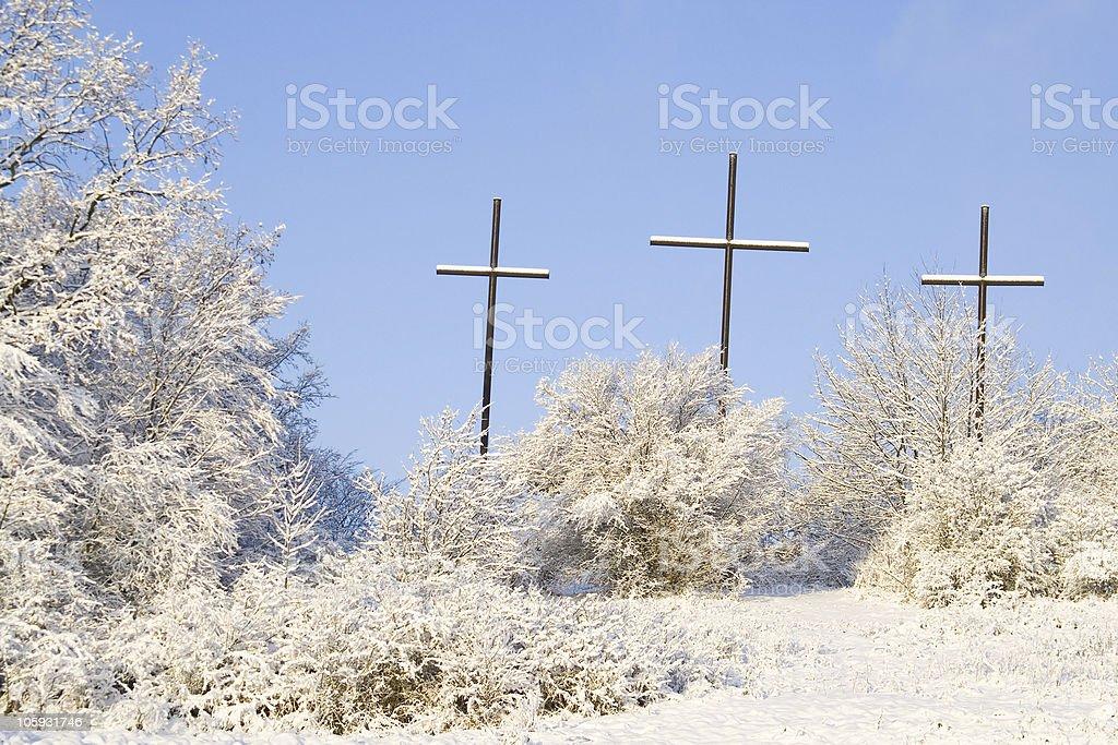 Crosses royalty-free stock photo