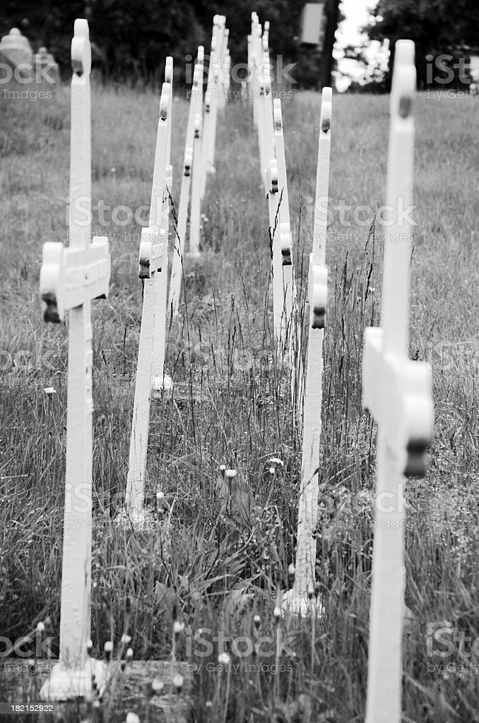 Crosses royalty-free stock photo
