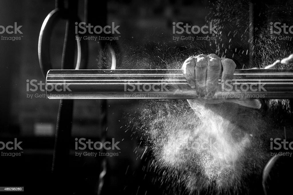 Crossfit Training and Equipment stock photo