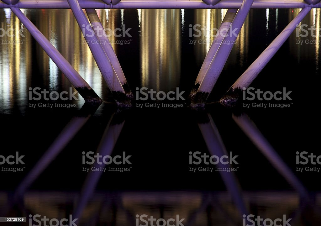 Crossing Night royalty-free stock photo