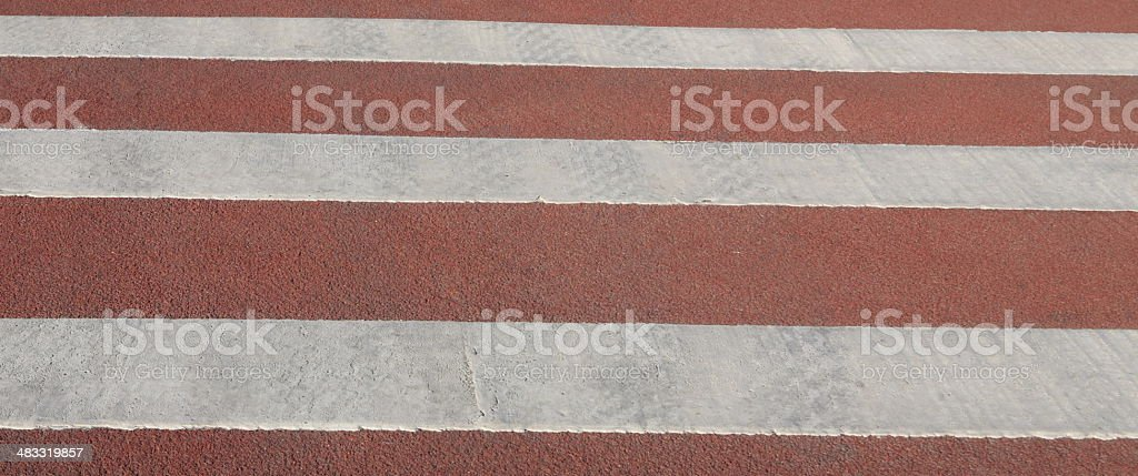 crossing on road royalty-free stock photo