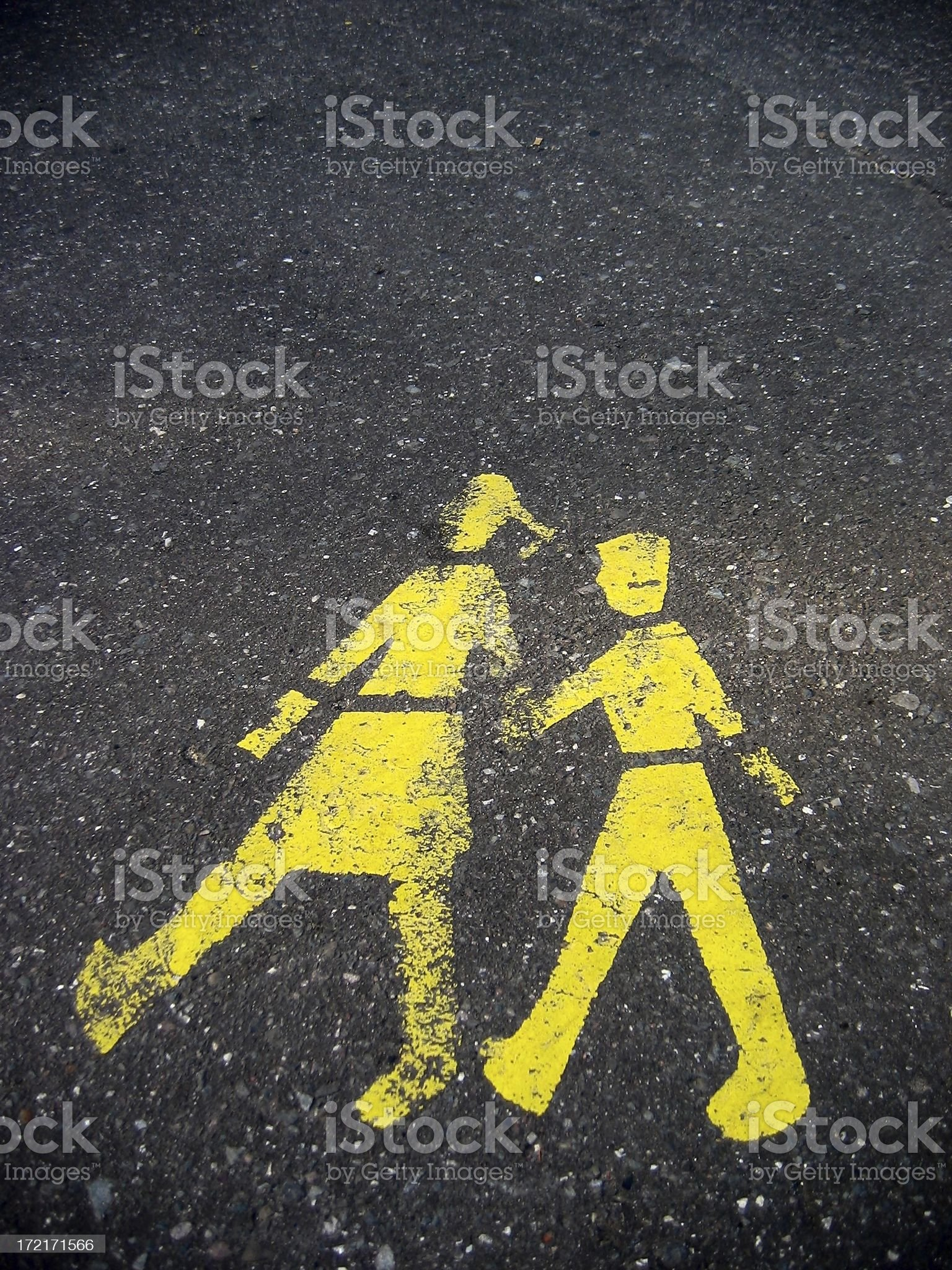 crossing #1 royalty-free stock photo