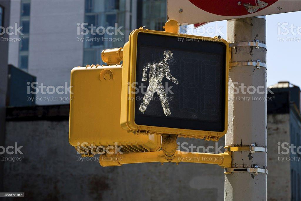 Crossing signal stock photo