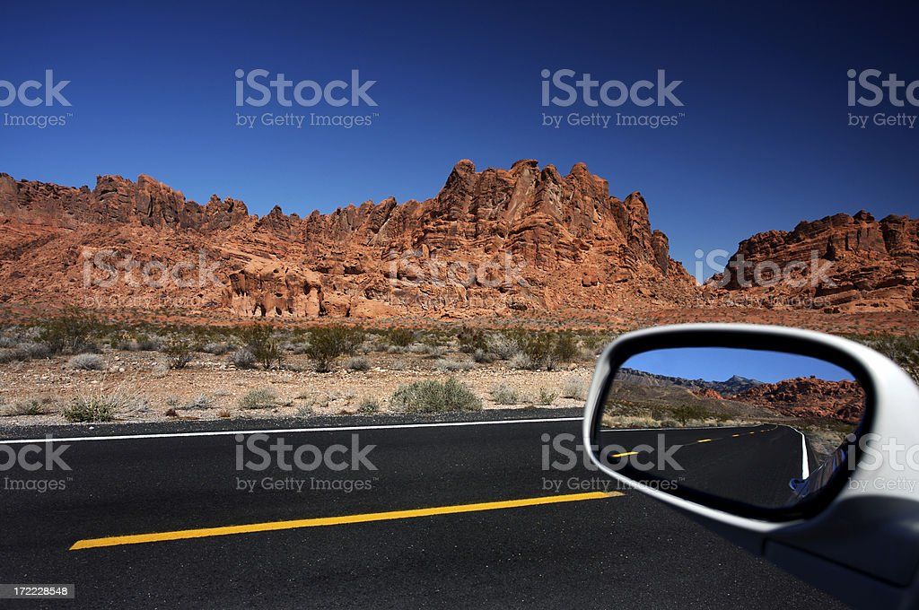 Crossing the Desert royalty-free stock photo