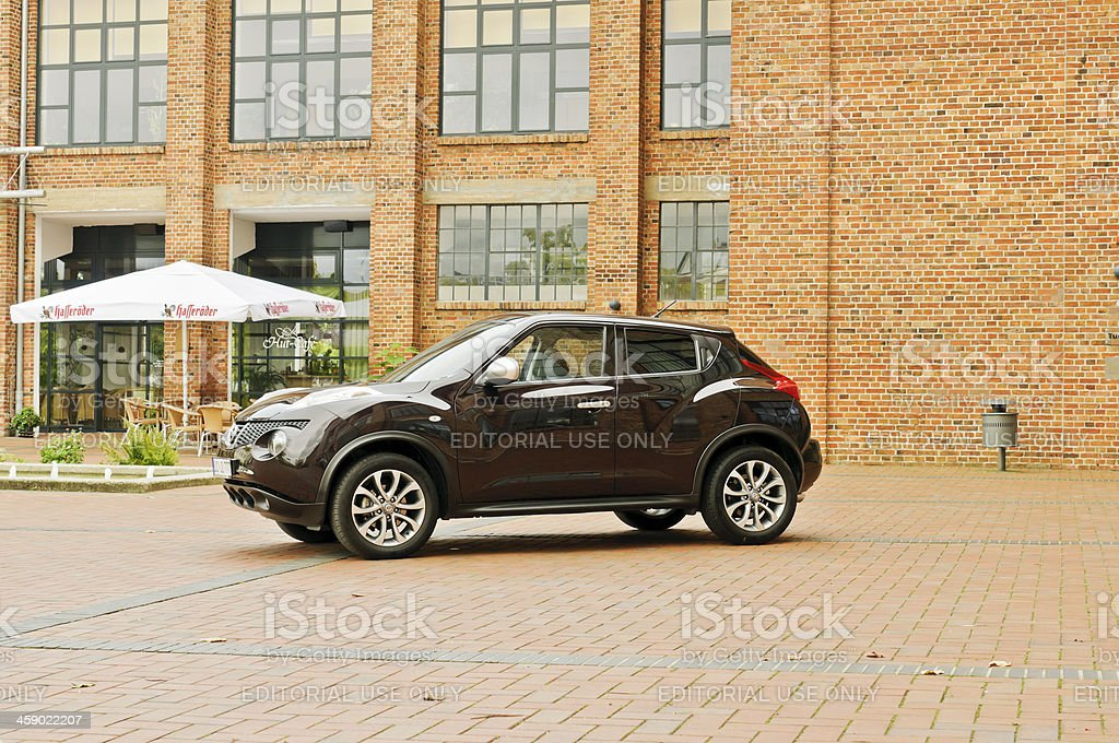 Crossover Nissan Juke stock photo