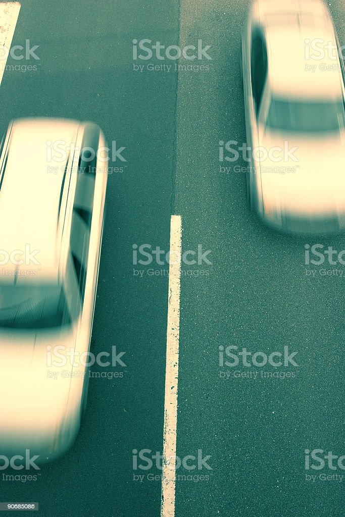 Crossprocessed transport photo royalty-free stock photo