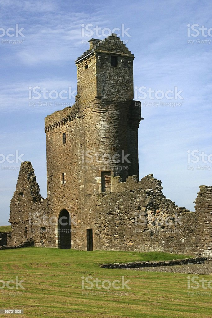 Crossraguel Abbey royalty-free stock photo