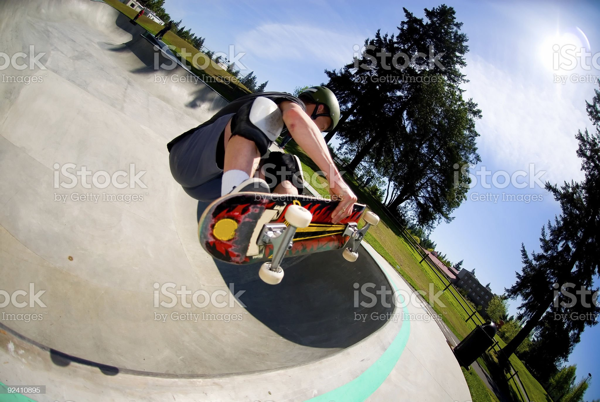 Crossroads Park - Fronside Air royalty-free stock photo