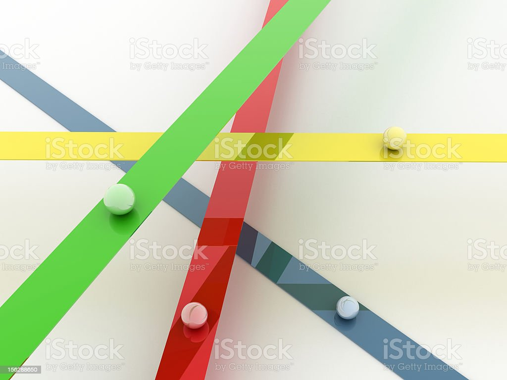 Crossroads royalty-free stock photo
