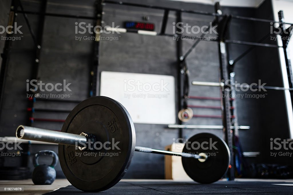 Cross-training gym stock photo