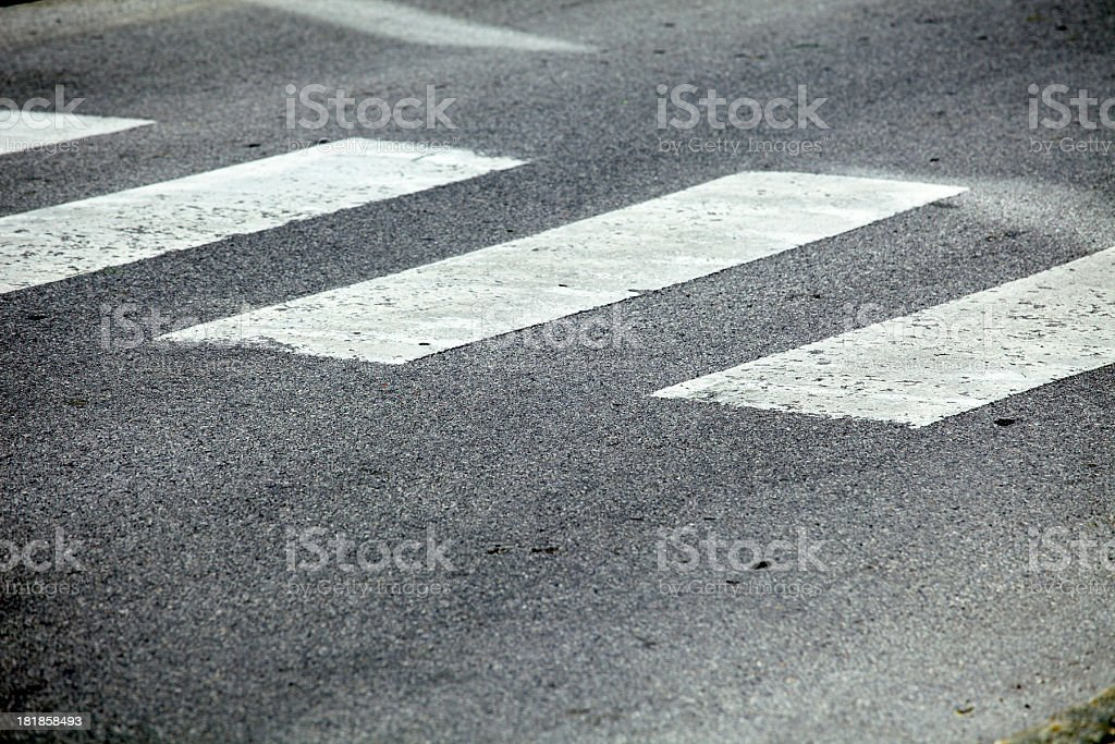 crosswalk royalty-free stock photo