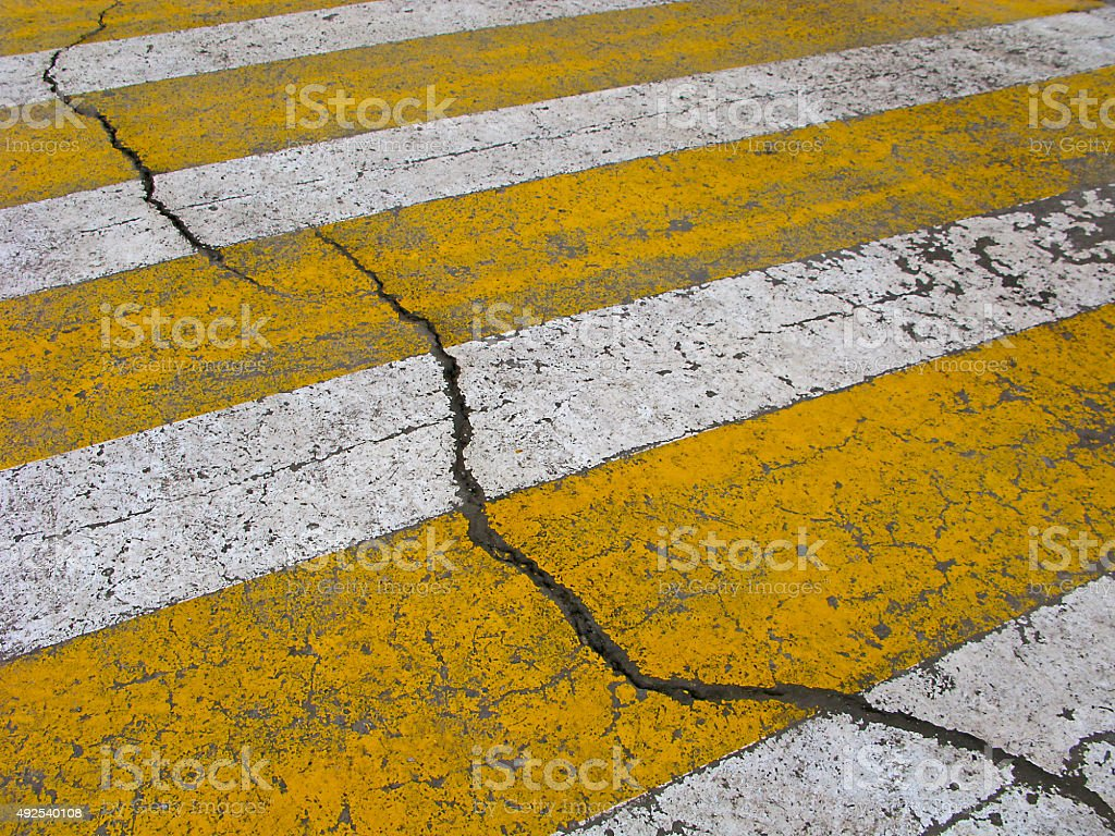 Crosswalk stock photo