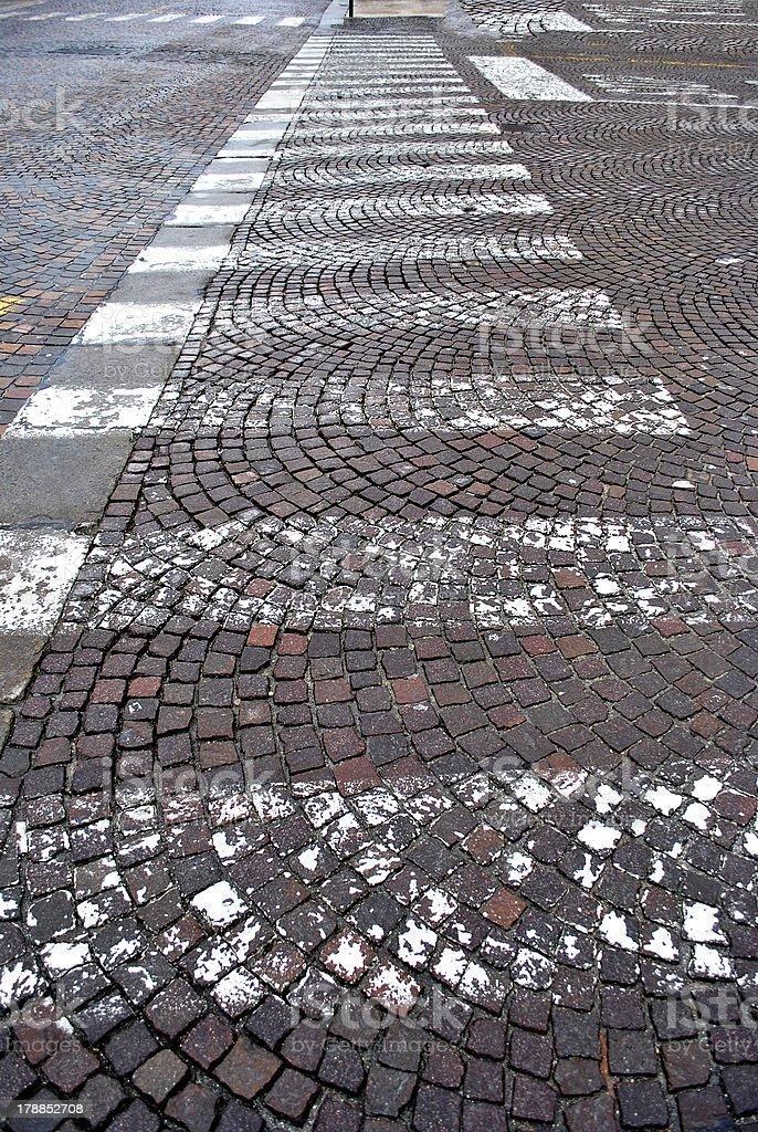 crosswalks royalty-free stock photo