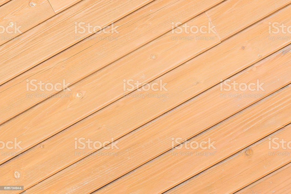 Crosswise old wooden wall texture. stock photo