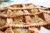 crostata di farro con marmellata di limoni