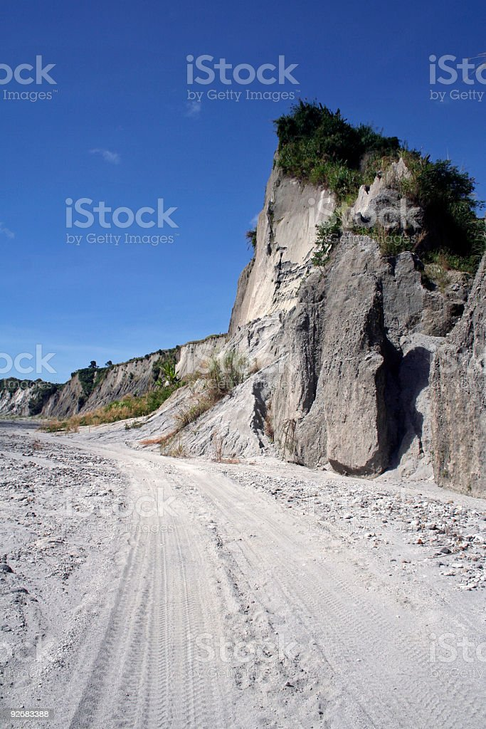 crow valley mount pinatubo philippines royalty-free stock photo