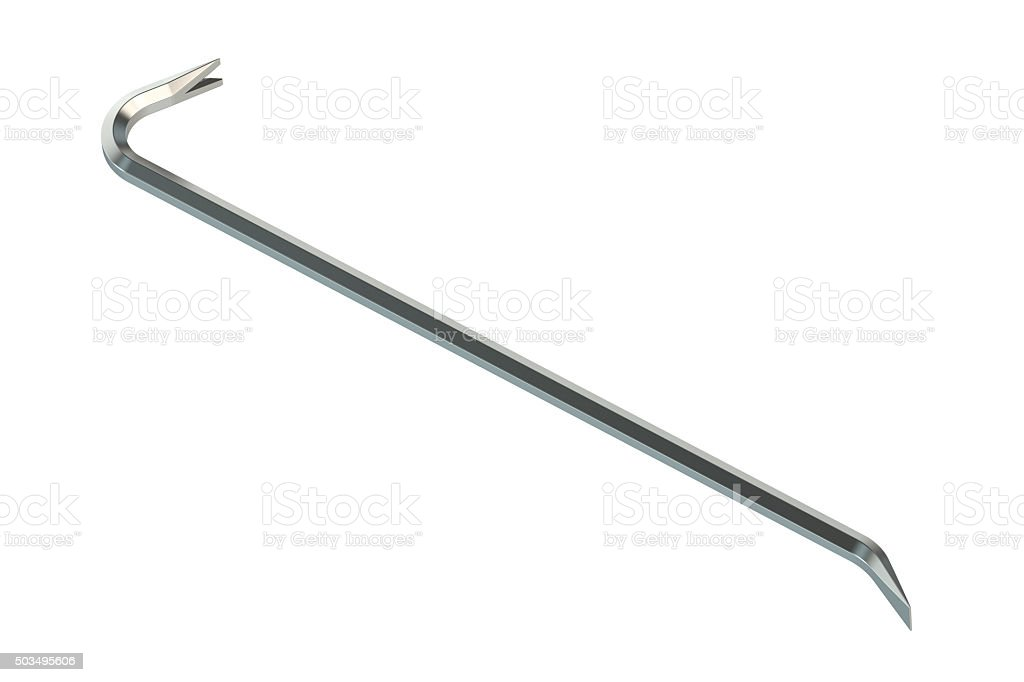 crowbar stock photo