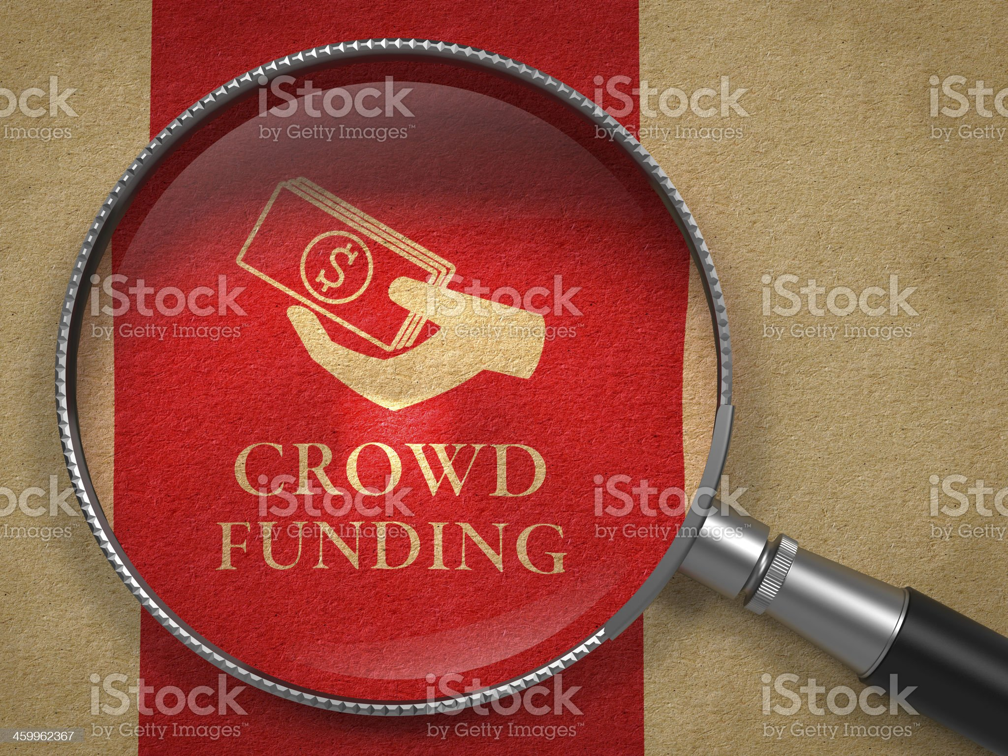 Crowd Funding Concept. royalty-free stock photo