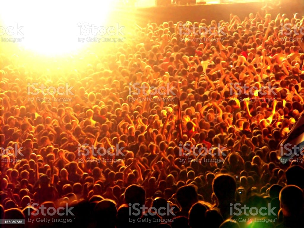 crowd of people background royalty-free stock photo