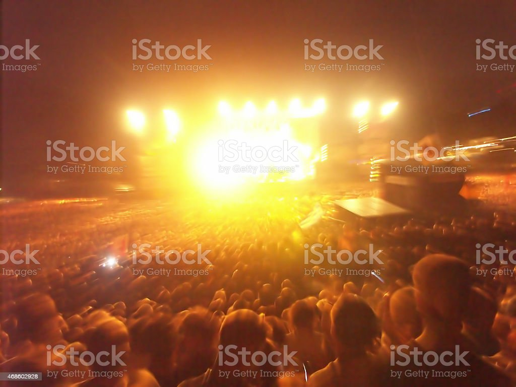 crowd of people background stock photo