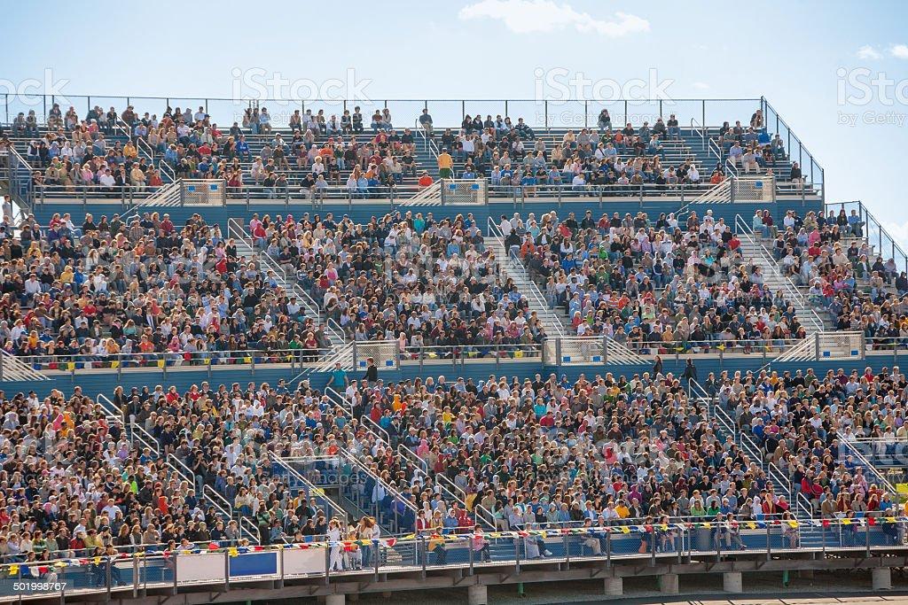 Crowded Stadium stock photo