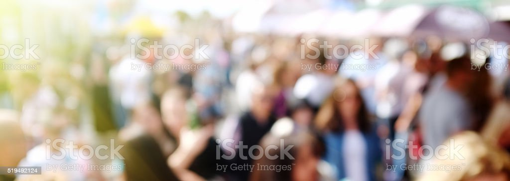 Crowded street. Urban background. stock photo