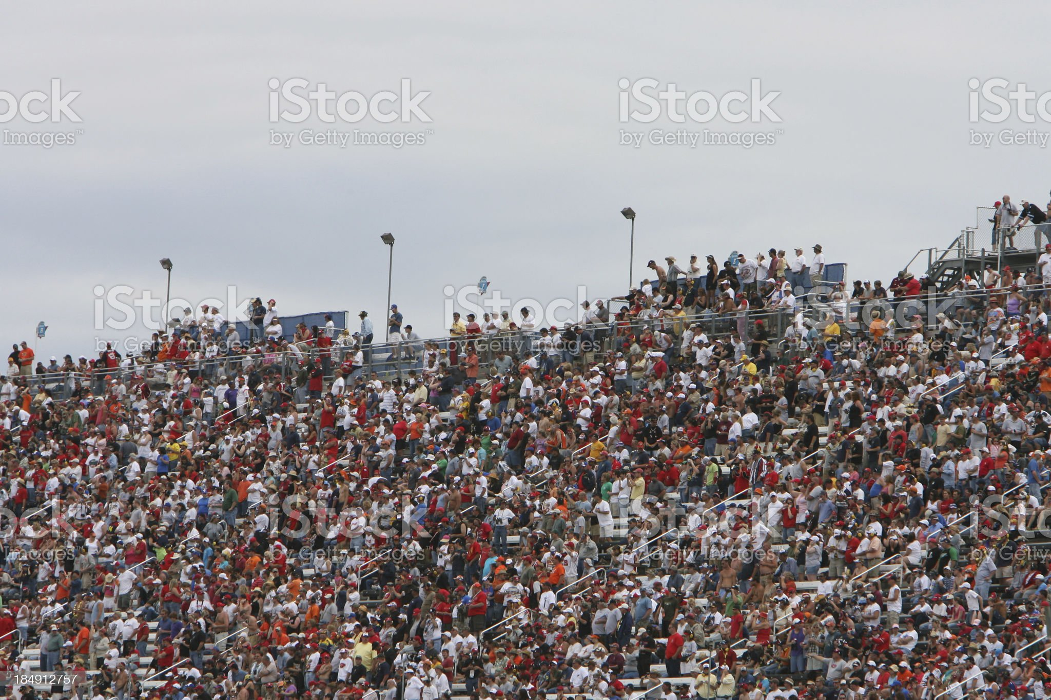Crowds royalty-free stock photo