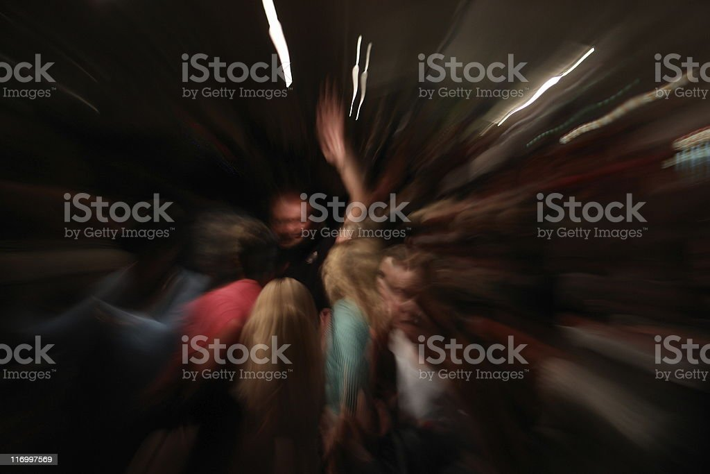 Crowed royalty-free stock photo