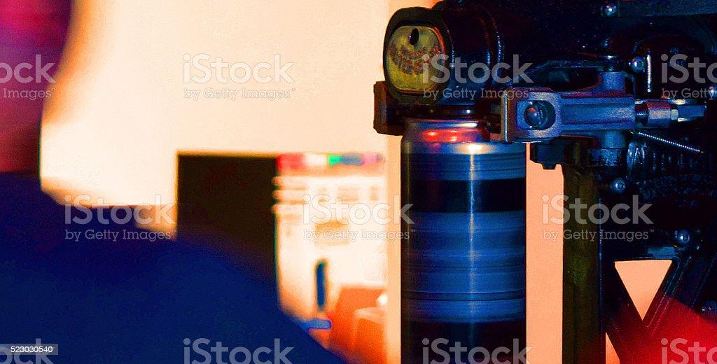 Crowler sealing stock photo