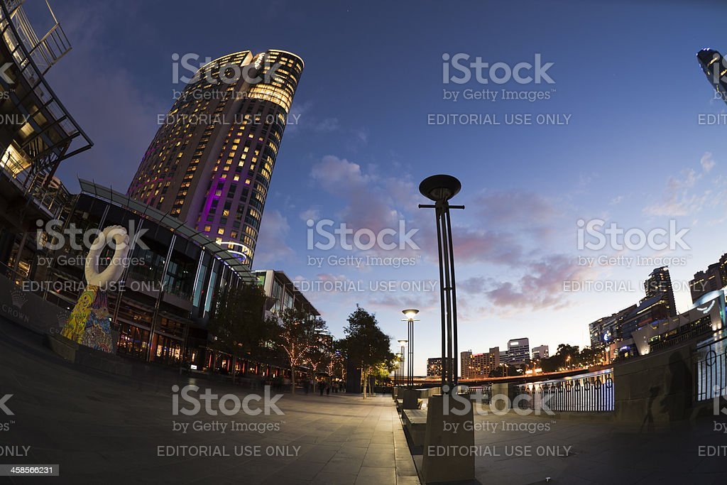 Crown Casino stock photo
