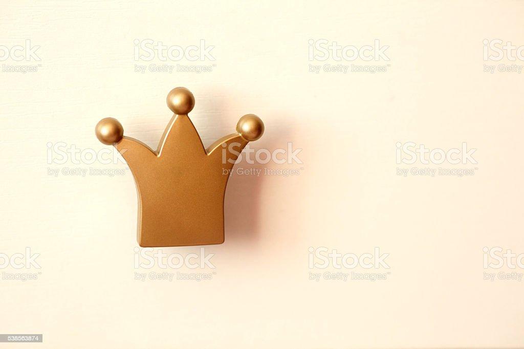 Crown icon stock photo