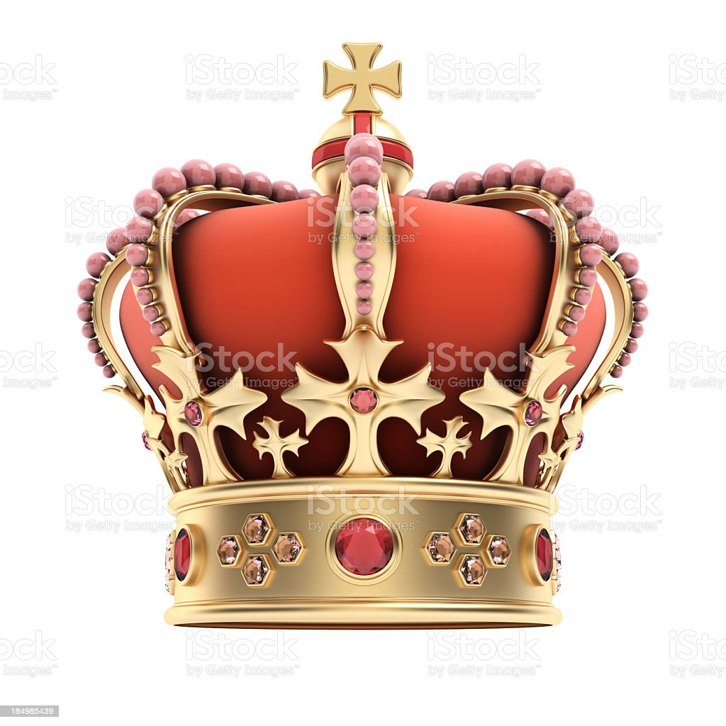 Crown royalty-free stock photo