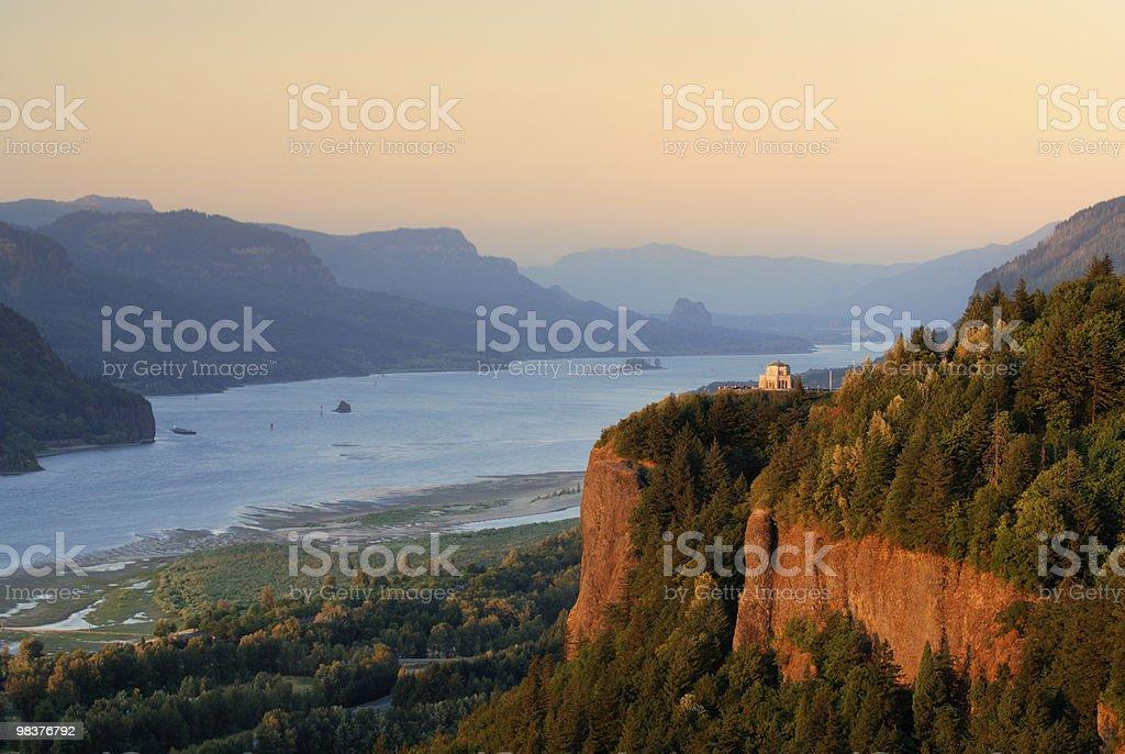 Crown Point, Oregon stock photo