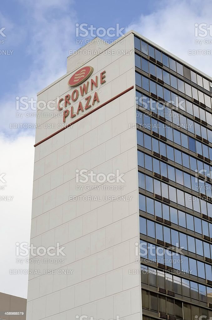 Crowne Plaza royalty-free stock photo