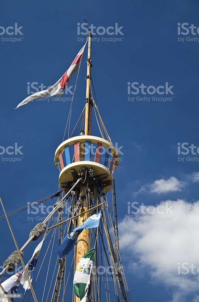 Crows Nest stock photo