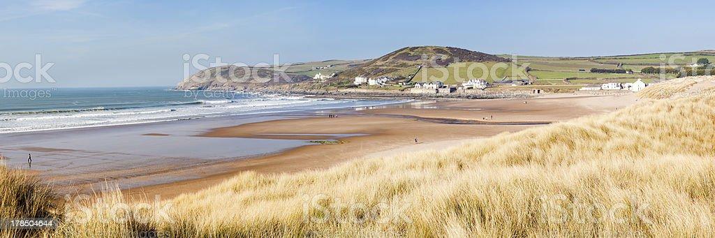 De Croyde Devon en Angleterre, Royaume-Uni photo libre de droits