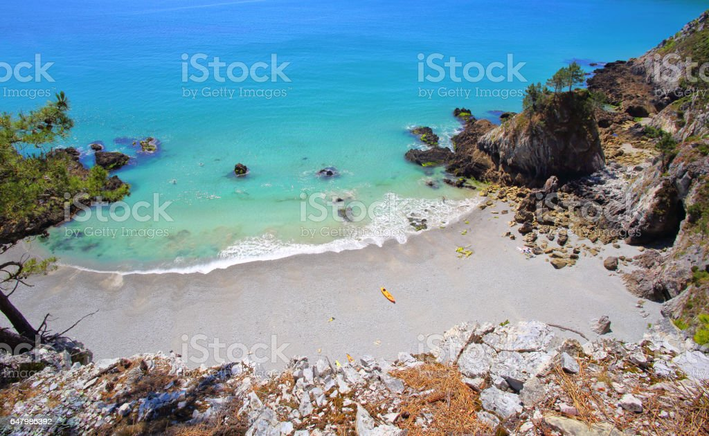 Crozon Peninsula stock photo