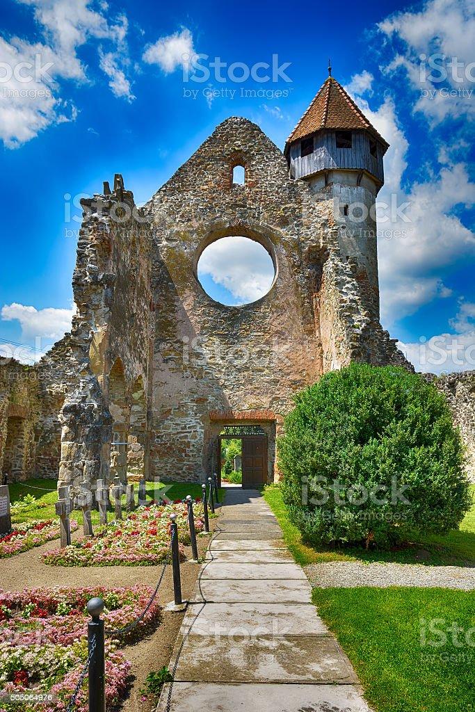 Cïrta Monastery is a former Cistercian (Benedictine) monastery stock photo