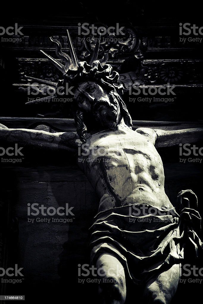 crucifiction royalty-free stock photo