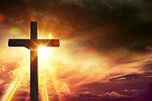 Crucifix Blessing Lights