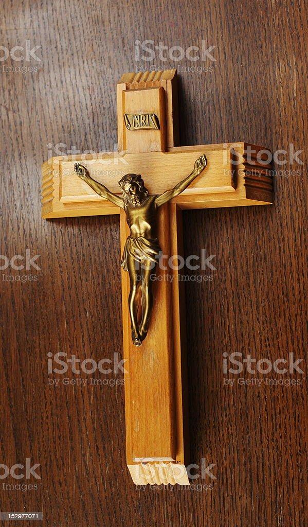 crucifix royalty-free stock photo