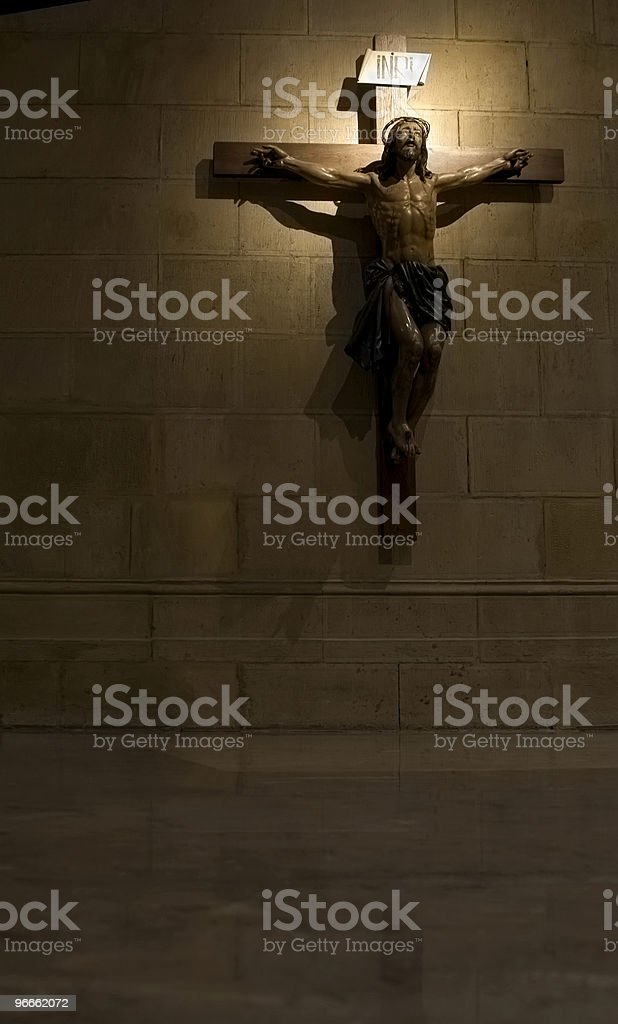 Crucifix royalty-free stock photo
