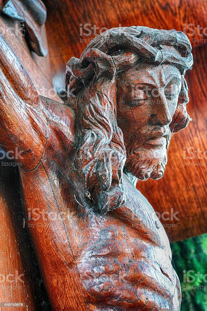 Crucifixion of Jesus royalty-free stock photo